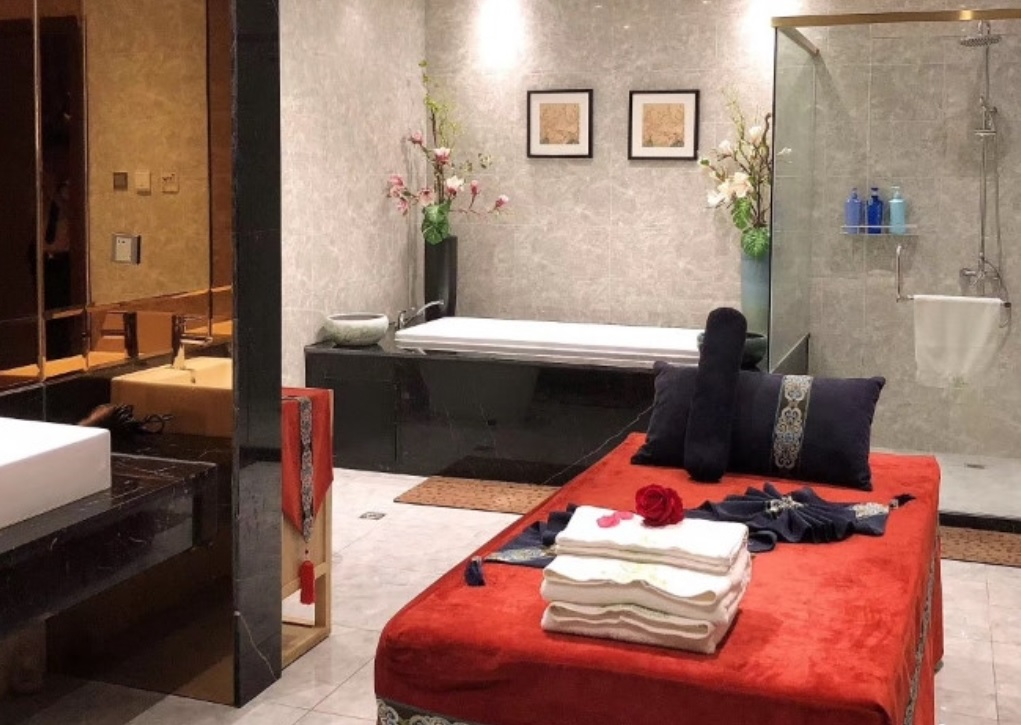 杭州特色的沐足水疗养生会所